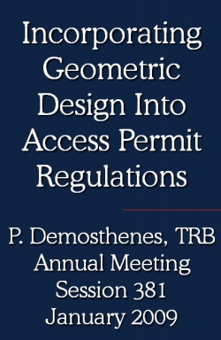 Incorporating Geometric design into regulations